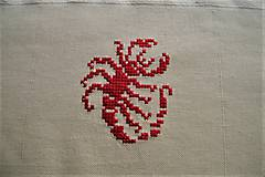 Obrázky - Vyšívaný obrázok, znamenie - škorpión - 7904403_
