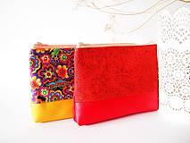 Kozmetická taška veľká-orient v červenej