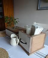 Nábytok - Šuflík po babičke - 7912252_