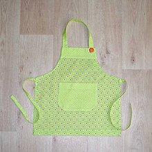 Iné oblečenie - zástera pre malé kuchárky - 7911485_