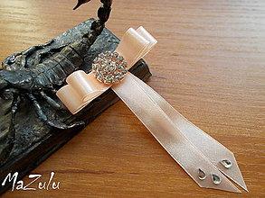 Pierka - svadobné pierko v marhuľkovom - 7908746_