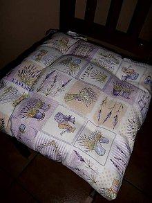 Úžitkový textil - PODSEDÁKY ...levandule - 7912814_