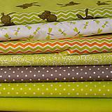 Textil - Jarná kolekcia-zelená - 7909248_