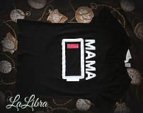 Tričká - Mama-unavená - 7912521_