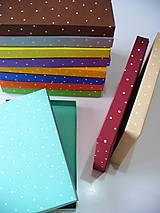 Krabičky - bodkované krabičky na želanie - 7909884_