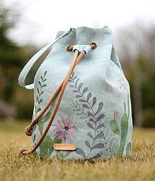 Kabelky - Ručne maľovaná kabelka \