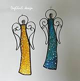 Dekorácie - Anjel - dekorácia na stenu - 7910139_