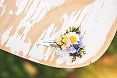 Ozdoby do vlasov - Kvetinová pukačka
