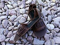 Obuv - barefoot sandalky - 7910203_