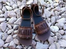 Obuv - barefoot sandalky - 7910241_