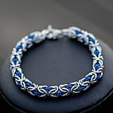 Hádě - náramok (modré)
