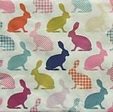Papier - S1019 - Servítky - veľká noc, zajac, zajačik, bunny, funny, rabbit - 7914501_