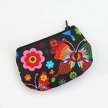 Peňaženky - Čierna peňaženka - 7915986_