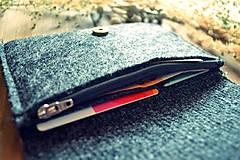 Peňaženky - Ľudová peňaženka VI.  - 7916735_