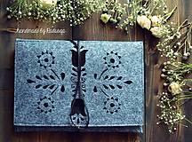 Na notebook - Ľudový obal na notebook - 7916739_