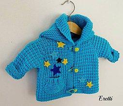 Detské oblečenie - Méďa s hvězdičkami... - 7914067_
