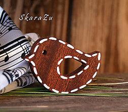 Odznaky/Brošne - Čiarkovaný outfit - 7915956_