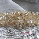 Minerály - Citrín pravý_5 cm návlek - 7913502_