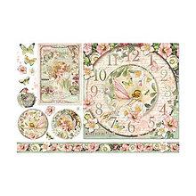 Papier - Ryžový papier Stamperia č.DFS357 - 48x33cm - 7916112_