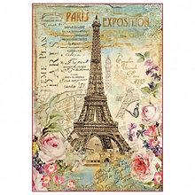 Papier - Ryžový papier Stamperia č.DFS370 - 48x33cm - 7916119_