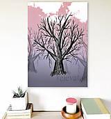 Grafika - Stromy a obloha (strom 1) - 7916727_