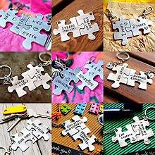 Kľúčenky - PUZZLE S TVOJÍM TEXTOM NA ŽELANIE :) - 7920937_