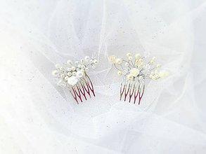 Iné šperky - svadobný hrebienok menší - 7918057_