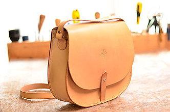 Kabelky - Kabelka lovecká/saddle bag ARTEMIS basic prírodná - 7918028_