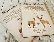 Darčeky pre svadobčanov - Poďakovanie pre rodičov - 7919185_