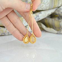 Náušnice - Simply Gold Luxury (Ag925-24K) - 7917698_