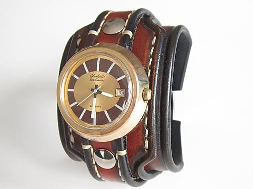 d12c0644c Kožený remienok na starožitné hodinky Glashutte / leon - SAShE.sk ...