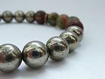 Náramky - náramek Natural ... Pyrit - 7918253_