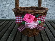 Košíky - Košíček s rúčkou - 7921248_
