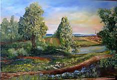 Obrazy - Popri rieke  predaný - 7922685_