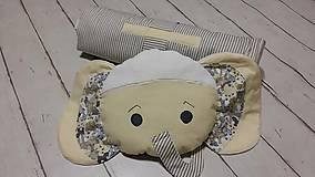 Textil - Vak na spanie SLONÍK s poduškou - 7924072_