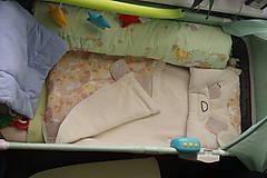 Textil - Vak na spanie SLONÍK s poduškou - 7924076_