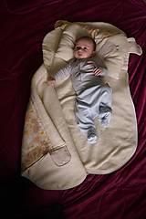 Textil - Vak na spanie SLONÍK s poduškou - 7924245_