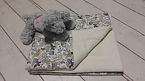 Textil - Vak na spanie SLONÍK s poduškou - 7925502_