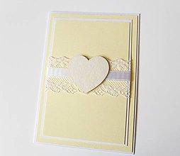 Papiernictvo - pohľadnica svadobná / poďakovanie rodičom - 7922602_