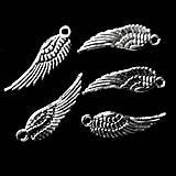 - KPrívesok-krídlo 5x16,7mm-strieb-1ks - 7925238_