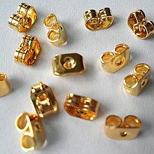 Komponenty - Koncovka na puzetu-zlatá-1ks - 7925196_