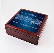Krabičky - Krabička aj na šperky drevená vintage 1 - 7922836_