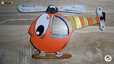 Magnetky - Magnetka - vrtulník - 7922420_