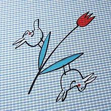 Úžitkový textil - JARO na OBZORU - napron 70x70 - 7921542_