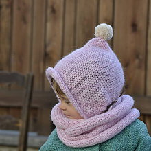 Detské čiapky - Čapkapuca...púdrová - 7925602_