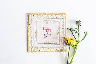 Papiernictvo - Pohľdnica Folk Floral