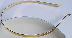 - Zlatý základ na čelenku - 7924525_