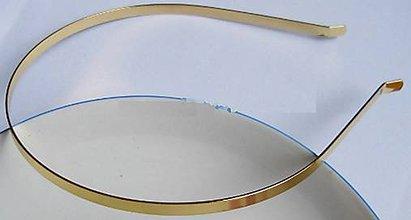 Galantéria - Zlatý základ na čelenku - 7924525_