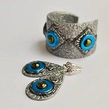 Sady šperkov - Náramok a náušnice z polymérovej hmoty - 7924744_
