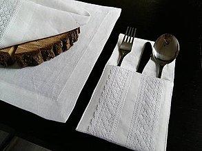 Úžitkový textil - Puzdro na pribor Bride's Secret - 7924968_